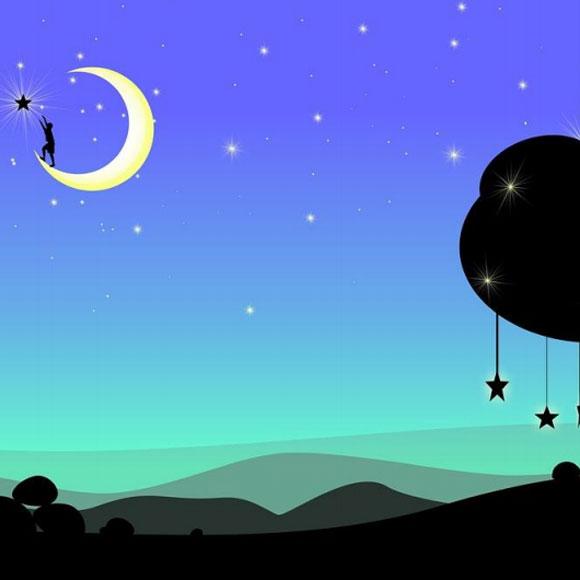Una última mirada a la luna